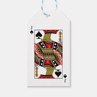 Jack of Spades - Add Your Image Pack Of Gift Tags