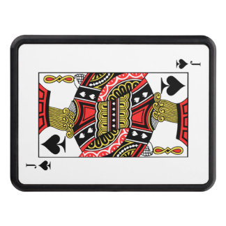 Jack of Spades - Add Your Image Trailer Hitch Cover