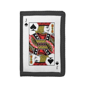 Jack of Spades Tri-fold Wallet
