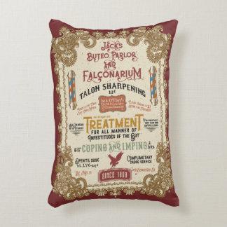 Jack O'Hares Buteo Parlor and Falconarium Accent Pillow