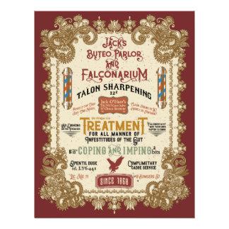 Jack O'Hares Buteo Parlor and Falconarium Flyer