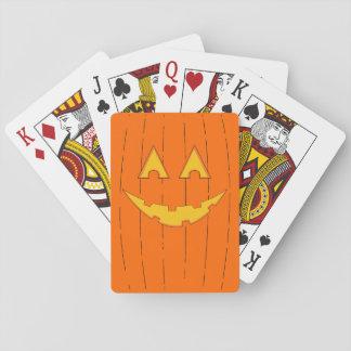 Jack O'Lantern Playing Cards