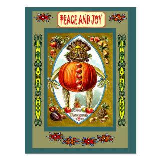 Jack O'Lantern Postcard