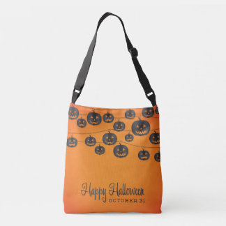 Jack O'lantern string Crossbody Bag