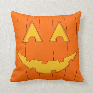 Jack O'Lantern Throw Pillow