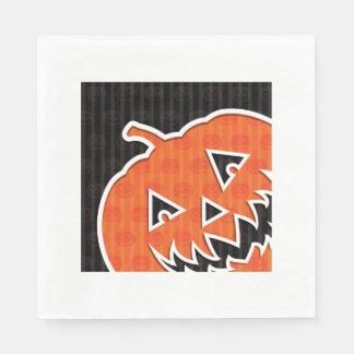 Jack O'Lanterns! Paper Napkins