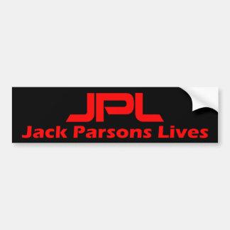 Jack Parsons Lives Bumper Sticker