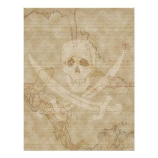 Jack Rackham Map #11 Letterhead