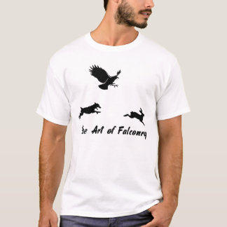 Jack Russel and Falconry T-Shirt