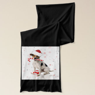 Jack Russel Christmas Fun Gift Scarf