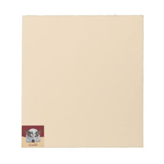 Jack Russel iCuddle Notepad