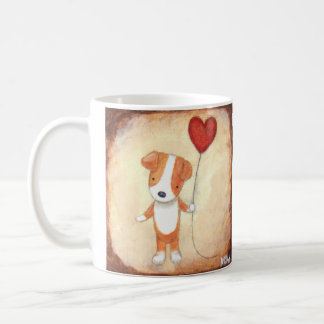Jack Russel Terrier Cute Dog Puppy Love Pet Lover Coffee Mug