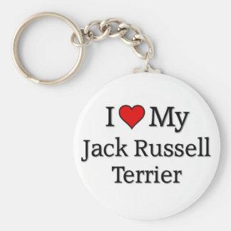 Jack Russel Terrier Keychain