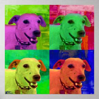 Jack Russel  Terrier Pop Art Poster
