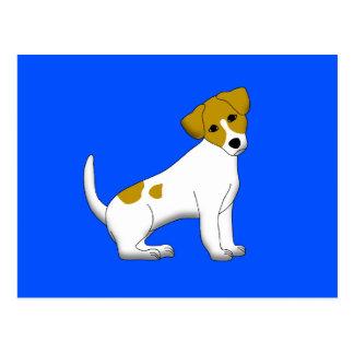 Jack Russel Terrier Postcard
