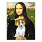 Jack Russell 10 - Mona Lisa Postcard