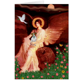 Jack Russell 10 - Seated Angel Card