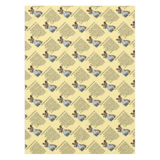 Jack Russell - Auntie Poem Tablecloth