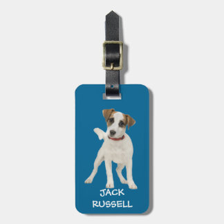 jack russell dog bag tag