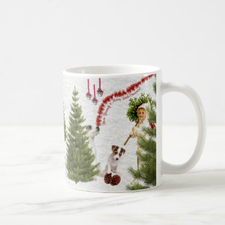 Jack Russell Have Yourself a Merry Christmas Coffee Mug