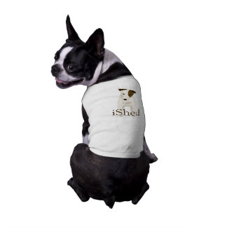 Jack Russell lovers iShed JRT dog's name Dog Shirt