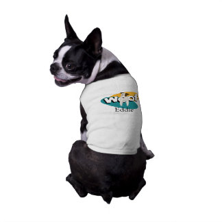 Jack Russell lovers WOOF JRT dog's name Shirt