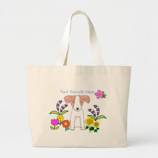 Jack Russell Mom Tote Bag