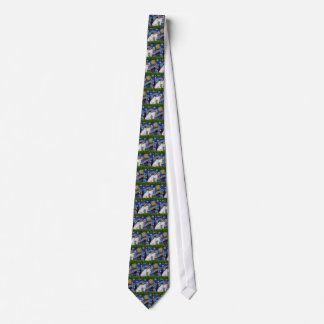 Jack Russell Pair 4 - Starry Night Tie