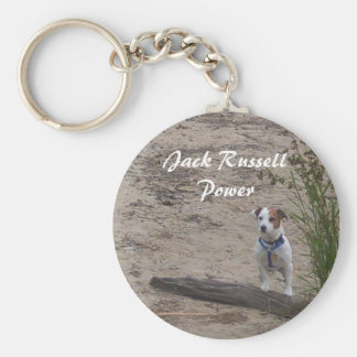 Jack Russell Power Keychain