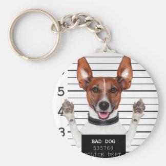 Jack russell prisoner keychain