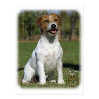 Jack Russell Terrier 9M097D-026 Postcard