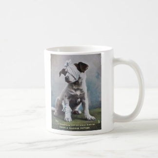Jack Russell terrier after a fight Coffee Mug