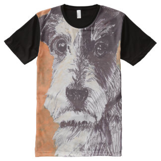 Jack Russell Terrier All-Over-Print T-Shirt