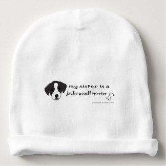 jack russell terrier baby beanie