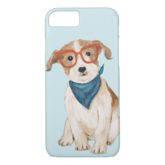 Jack Russell Terrier (Background Color Editable) iPhone 8/7 Case