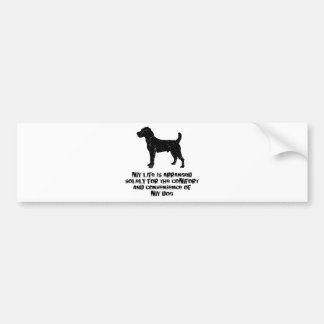 Jack Russell Terrier Bumper Sticker