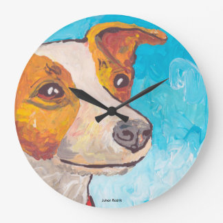 Jack Russell Terrier Clocks