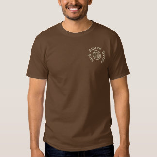 Jack Russell Terrier Dad Gifts Embroidered T-Shirt