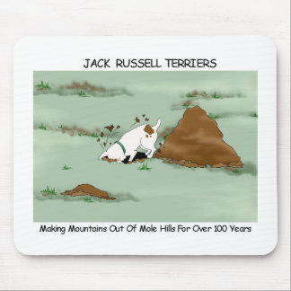 Jack Russell Terrier Digging Mousepad