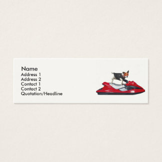 Jack Russell Terrier dog Mini Business Card