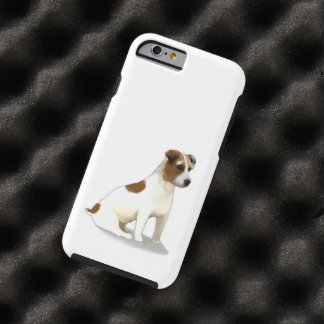 Jack Russell Terrier Dog Sitting Tough iPhone 6 Case