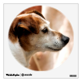 JACK RUSSELL TERRIER DOG WALL STICKER