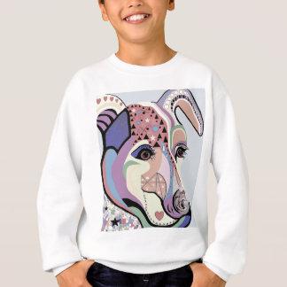 Jack Russell Terrier in Denim Colors Sweatshirt