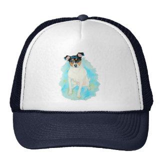 Jack Russell Terrier Jake Cap Trucker Hat