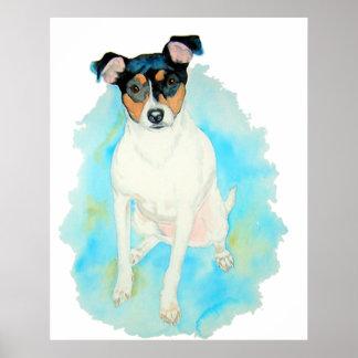 Jack Russell Terrier Jake Print