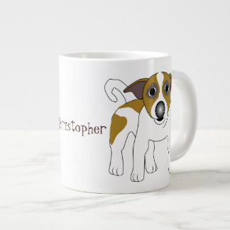 Jack Russell Terrier Just Add Name Large Coffee Mug