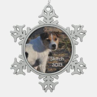 Jack Russell Terrier Keepsake Ornament