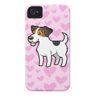 Jack Russell Terrier Love iPhone 4 Case-Mate Cases