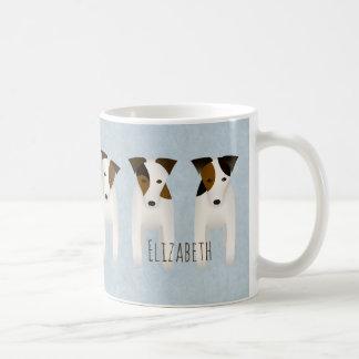 Jack Russell Terrier lovers' customized Coffee Mug