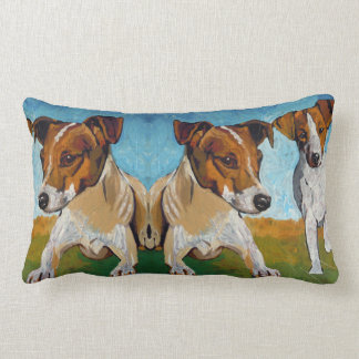 Jack Russell Terrier Lumbar Pillow